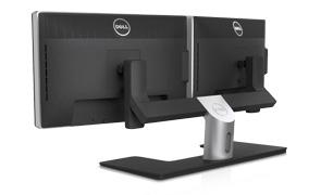 Dell UltraSharp 24 Monitor - Dell Dual Monitor Stand| MDS14