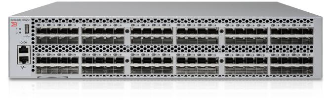 Switch-ul Fibre Channel Brocade 6520 din a cincea generaţie