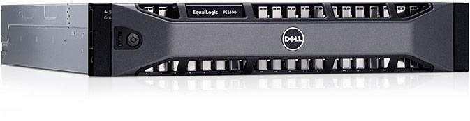 EqualLogic PS6100XS-opslagarray (overzicht)