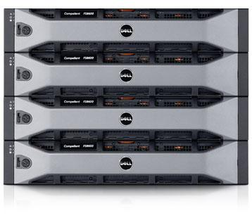 Compellent FS8600 storage