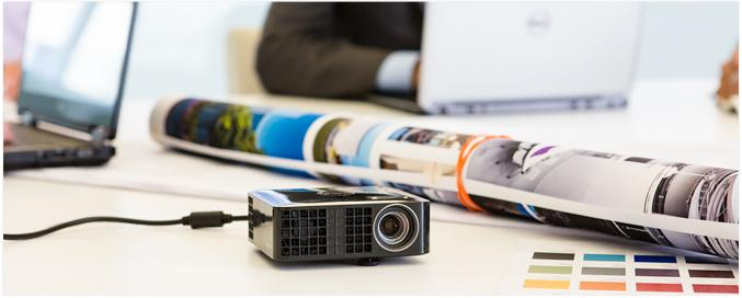 Dell M115HD Projector - The conference room in your laptop bag