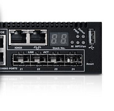 PowerConnect 7024P – Automatisierte Sicherheit