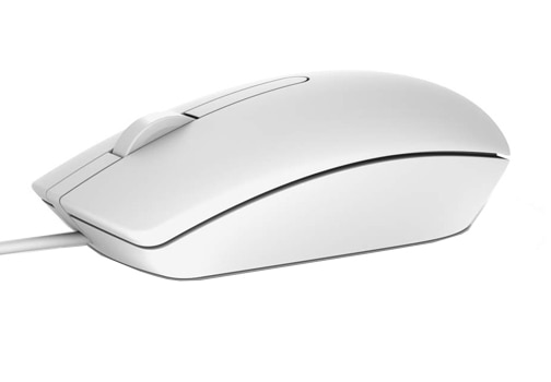 Dell Optical Mouse- MS116 (White)