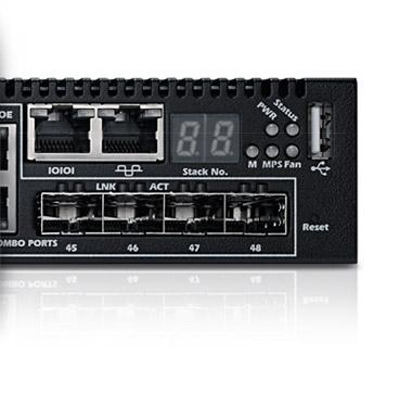PowerConnect 7048P Switch (Überblick)