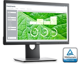 Dell P2017H Monitor – Enhanced viewing experience