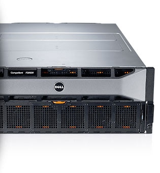 Dell Compellent FS8600 - Optimized platform for high speed, low TCO