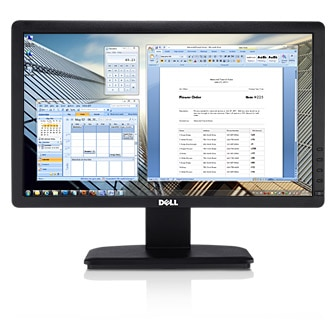 Dell E1912H Monitor - See efficiency in a new light.