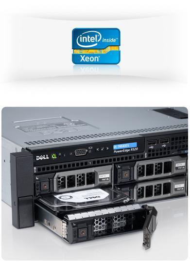 PowerEdge R520 - Plateforme informatique flexible