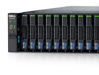 Dell Compellent SC4020 - Enterprise storage features right from the start