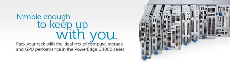 poweredge c8000 networking