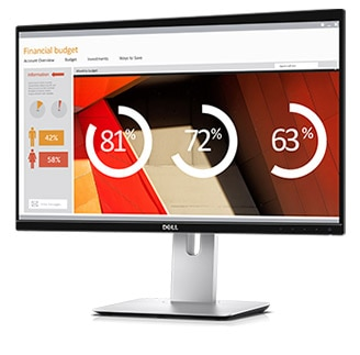 Dell U2417HWI Monitor – Designed for superb viewing