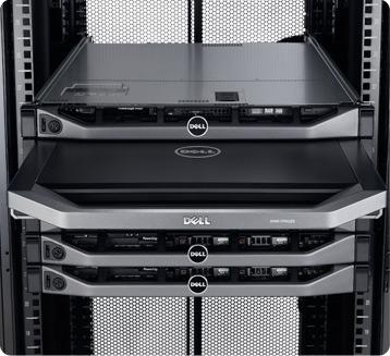 Dell 1U Rackmount LED Console - Easy Installation