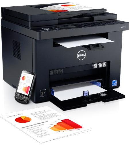 Imprimante multifonction couleur Dell C1765nfw : naturellement efficace