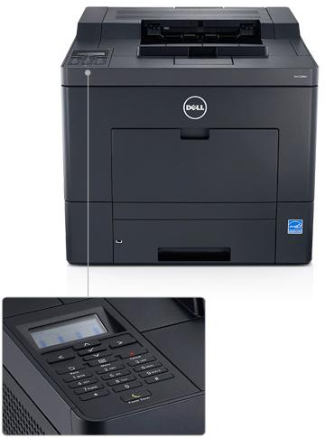 Dell C2660Dn Printer - Print with speed and security