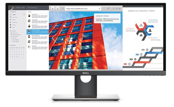 Dell U2917W Monitor – Stretch the limits of your multi-tasking capabilities