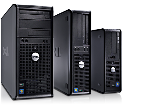 Computadoras desktop Dell OptiPlex 580