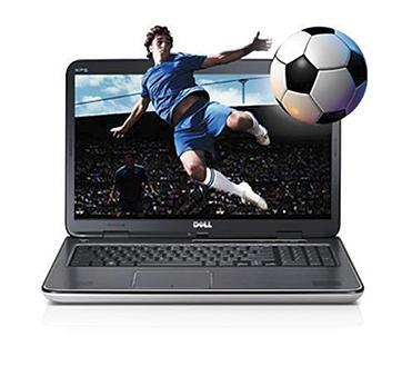 Dell XPS 17 laptop with 3D design