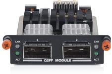 وحدة +QSFP ثنائية المنافذ