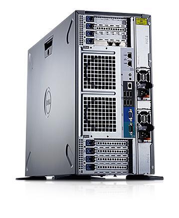 PowerEdge T620— это идеальная производительность, универсальность и масштабируемость