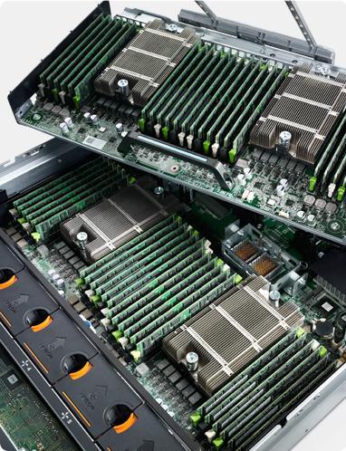 PowerEdge R820 - Potenza e capacità concentrate