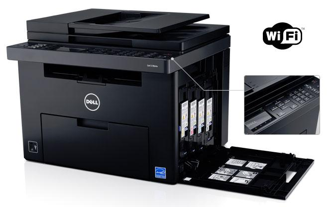 Dell C1765nfw Color Multifunction Printer Driver