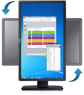 Dell U2312HM Monitor (overview)