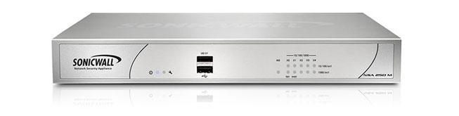 فئة أجهزة NSA من Dell SonicWALL — جهاز NSA 250M