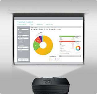 Dell 1220 Projector - Engage your audience