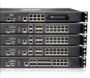 SonicWALL NSA Series — Proteção de firewall de nível empresarial