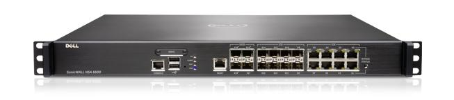 Gamme Dell SonicWALL NSA — NSA 6600
