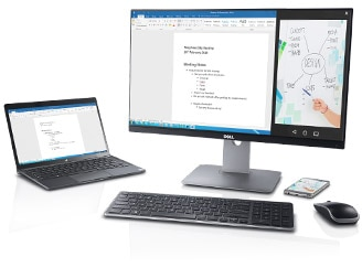 Dell U2417HWI Monitor – Transition easily between devices.