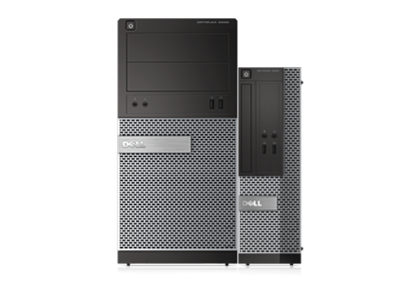OptiPlex 3020 MT desktop en SFF desktop.