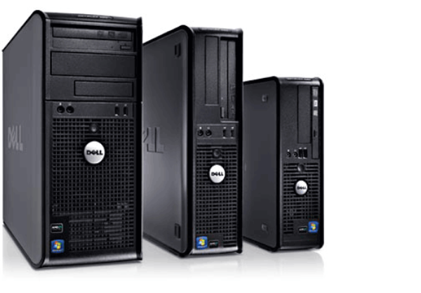 OptiPlex 580 Desktops
