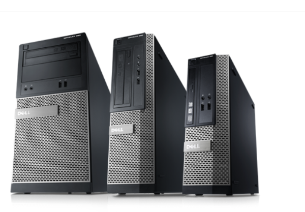 Gamme d'ordinateurs de bureau Optiplex 390
