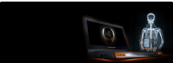 Alienware M11X-laptop