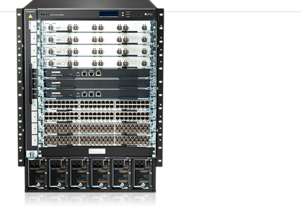 Switch de chassi Ethernet modular PowerConnect J-EX8208