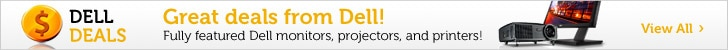 Dell Deals – Monitors, Printers, Projectors