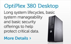 OPTIPLEX 380 DESKTOP