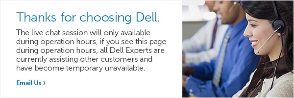 Get Live Help From A Dell Expert