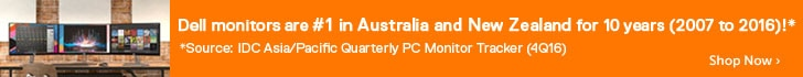 Dell monitors No.1 in Australia