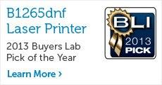 B1265dnf Printer Buyers Lab Award