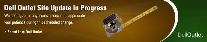 Dell Outlet Site Update in Progress