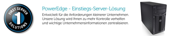 Dell First Server Solutions Packages