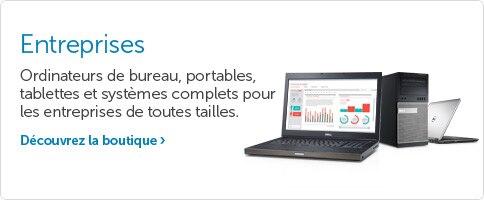 Ordinateurs Dell pour les entreprises