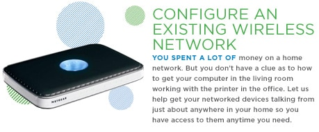Configure an Existing Wireless Network