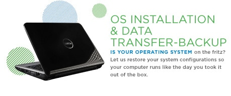 OS Installation & Data Transfer-Backup