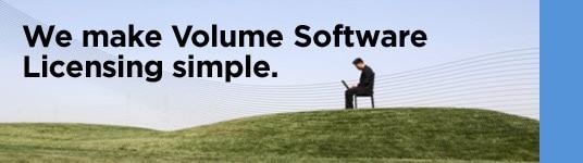 We make Volume Software Licensing simple