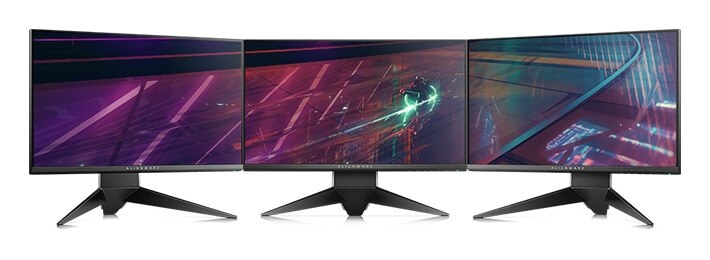 New Alienware 25 Gaming Monitor | AW2518H - Slim bezels. Seamless gaming.