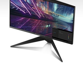 New Alienware 25 Gaming Monitor | AW2518HF - Dynamic on-screen display