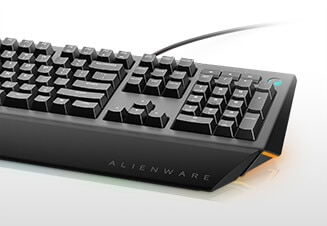 Alienware Advanced Gaming Keyboard | AW568 - Built for responsiveness, designed for comfort